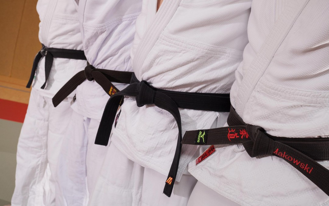 Judo Gürtelfarben