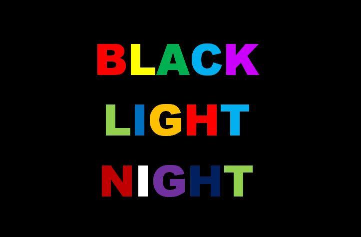 BLACK LIGHT NIGHT am 11.12.2015