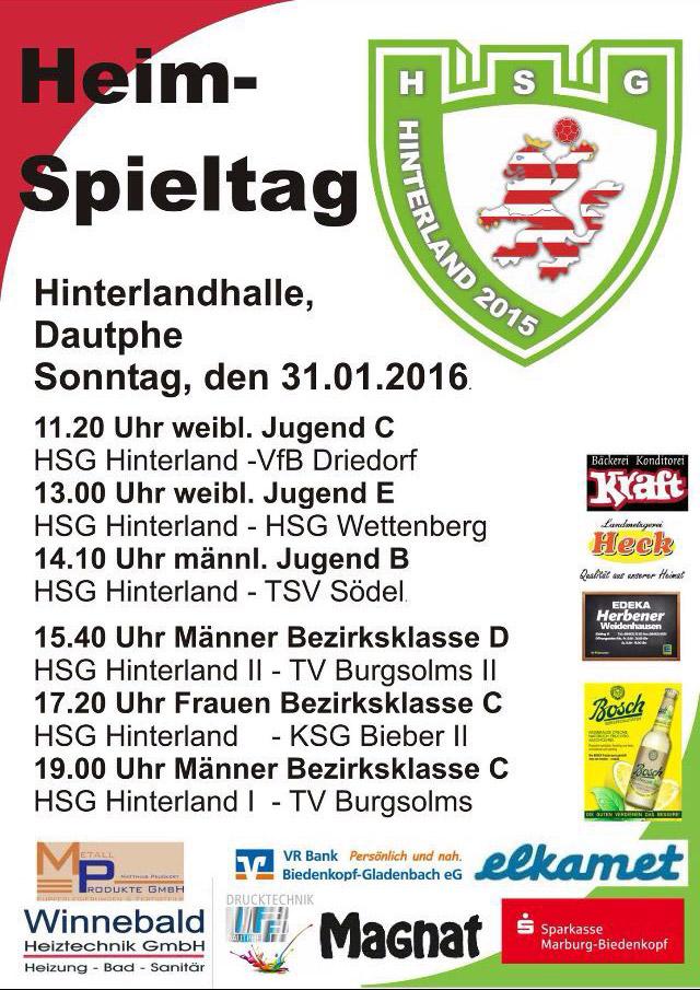 Handball-Hinterlandhalle-31.01.2016