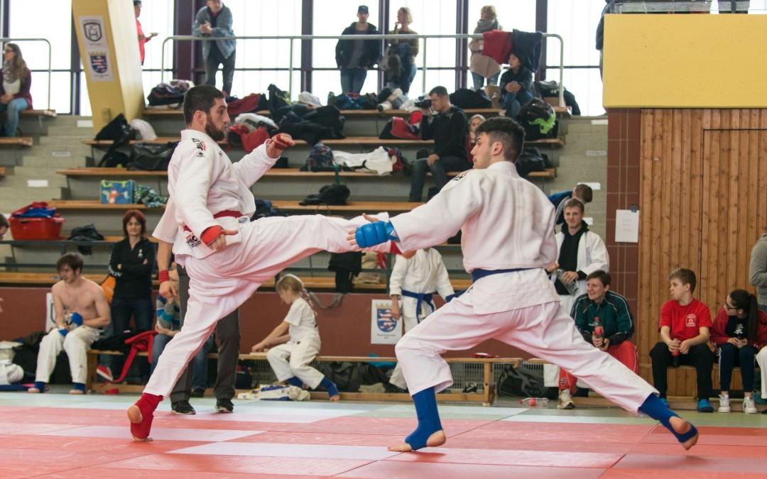 Hessische Einzelmeisterschaften im Ju Jutsu 2016
