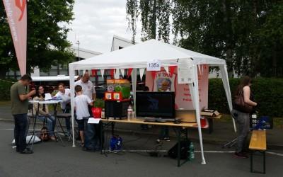 TVG Stand auf dem Kirschenmarkt Krammarkt