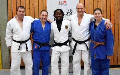 TVG Judotrainer auf der 11. int. Judo-Fortbildung in Tübingen