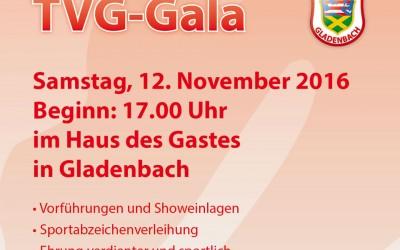 Vorankündigung TVG Gala
