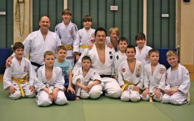 Judo mit Weltmeister Takamasa Anai