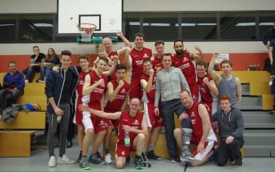 Baskets-Herren werfen ab sofort eine Klasse höher Körbe