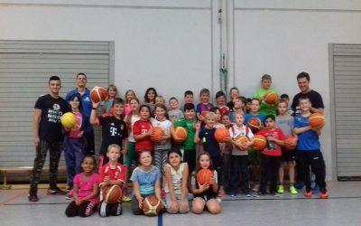 Ferienpassaktionen der Basketballer stoßen auf große Resonanz