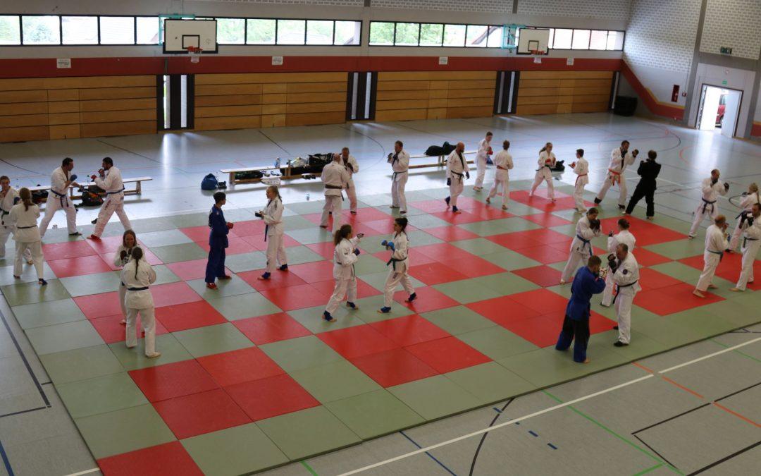 Landestechniklehrgang Jiu Jitsu in Gladenbach