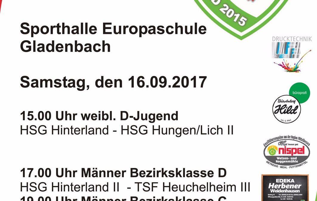 Handball Heimspieltag am 16.09.2017