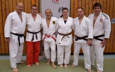 TVG Judo-Trainer auf intern. Fortbildung