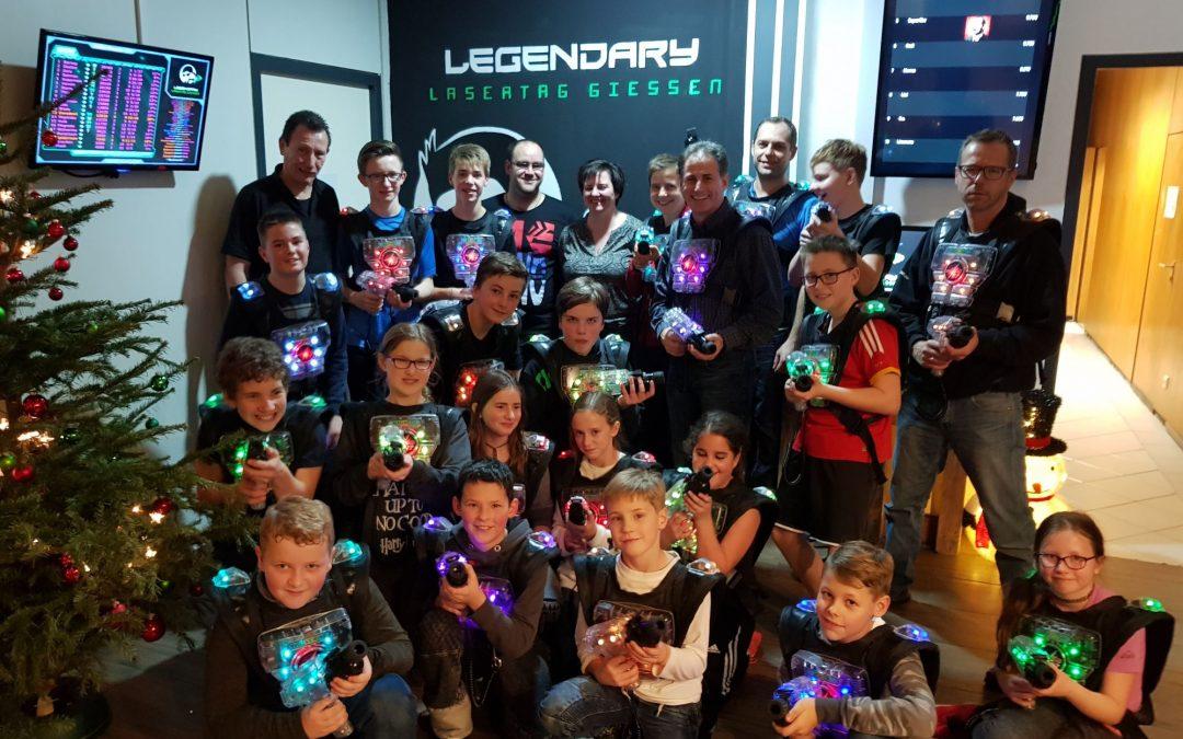 Jahresabschluss Legendary Lasertag Gießen