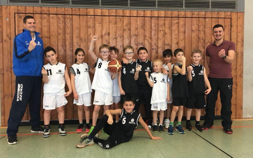 Förderung der Kleinsten: U10 und U12-Baskets spielen ganz vorne mit