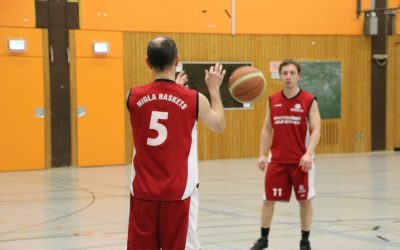 Basketball Herren Kreisliga B: TSV Butzbach 4 – NiGla Baskets (55:97, Halbzeitstand 17:41)