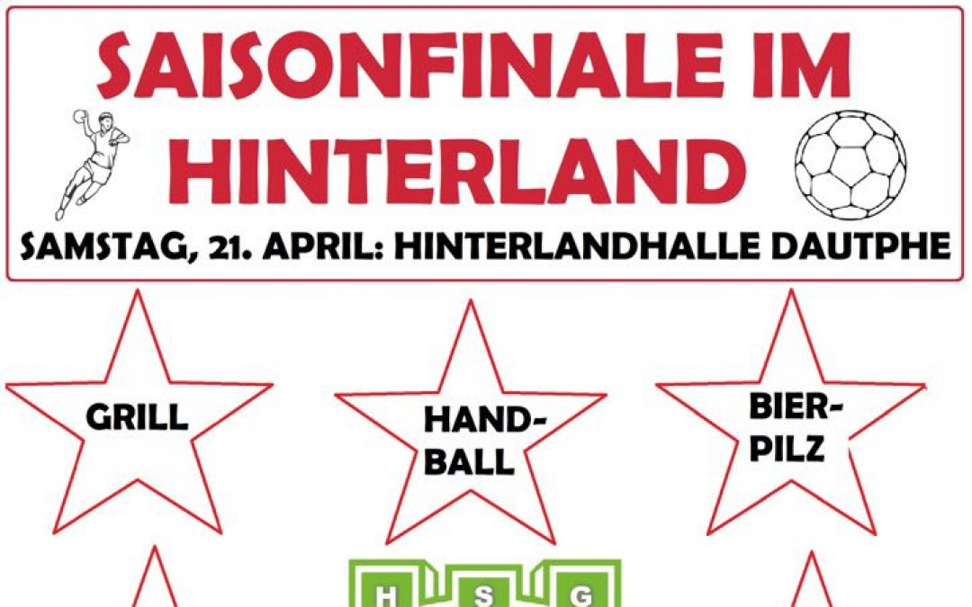 Handball Saisonfinale am 21. April 2018