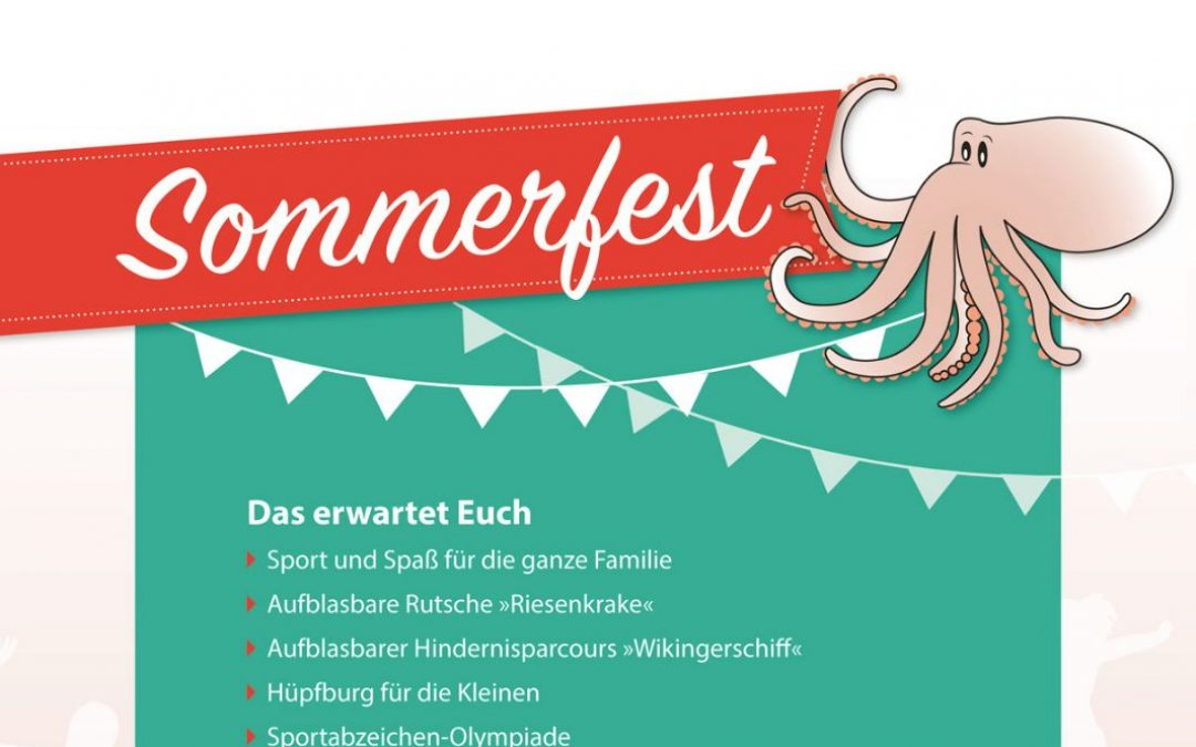 Sommerfest am 11. August 2018