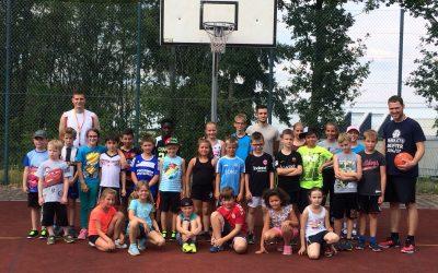 Basketball ist fester Bestandteil der Ferienspiele