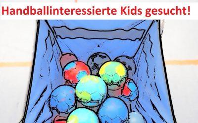 Handballinteressierte Kids gesucht!