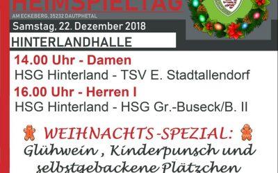 Handball Heimspieltag
