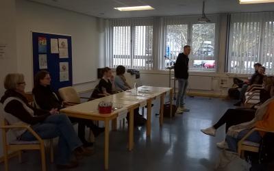 FSJ Vorstellung an der Adolf-Reichwein-Schule