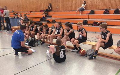 U12-Baskets gelingt der Wurf in die Landesliga