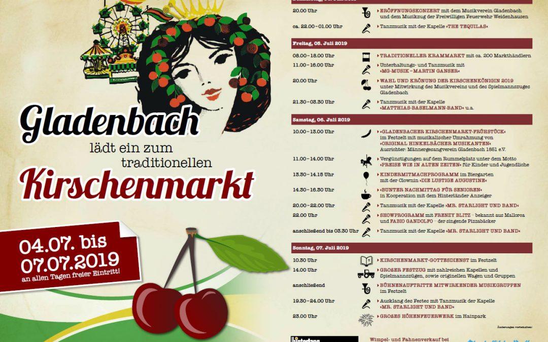 Kirschenmarkt 2019 Gladenbach