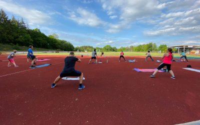 Body Workout jeden Mittwoch bei gutem Wetter