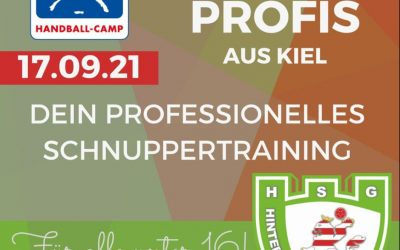 Handball Schnuppertraining mit Profis